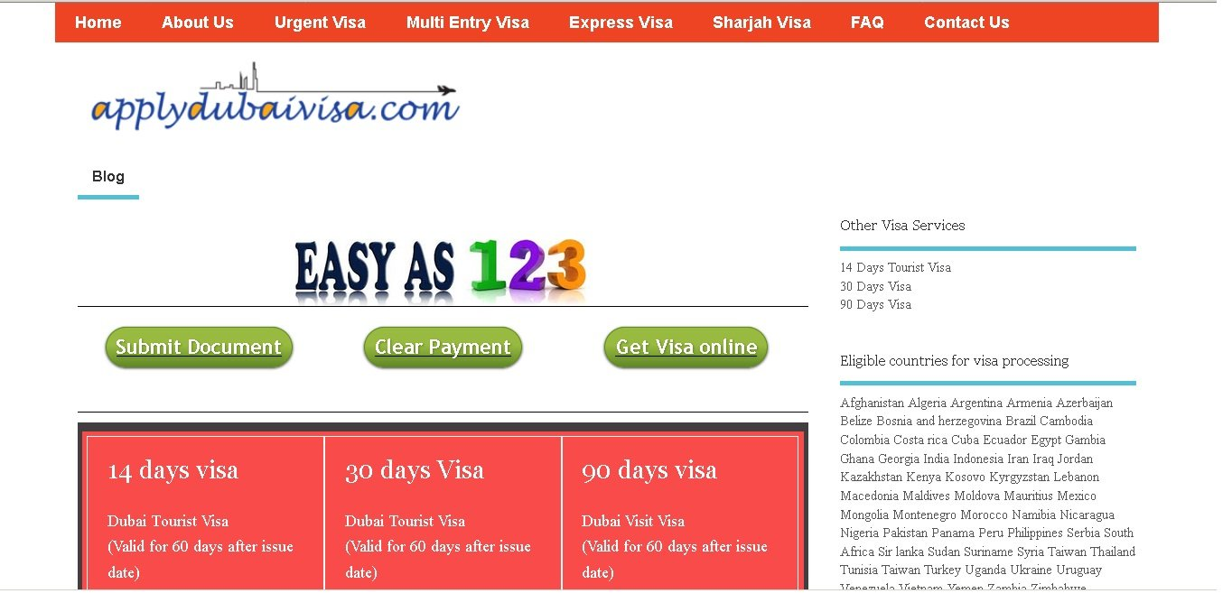 Apply Dubai Visa Startus