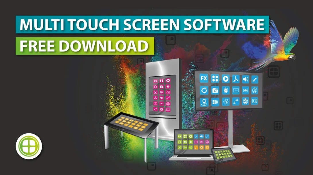 Digital Signage Multi Touch Screen Software + App Store | StartUs