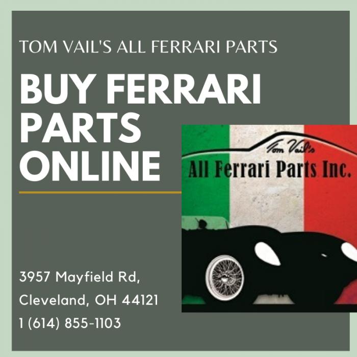 Tom Vail S All Ferrari Parts Startus