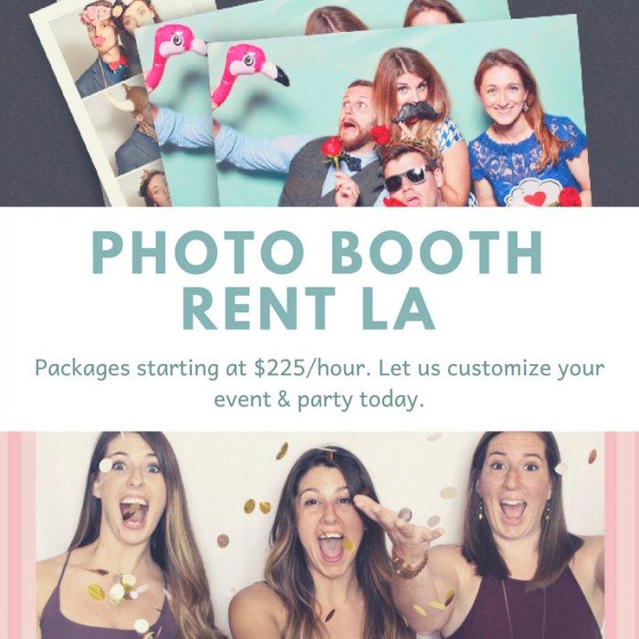 Photo Booth Rent LA | StartUs