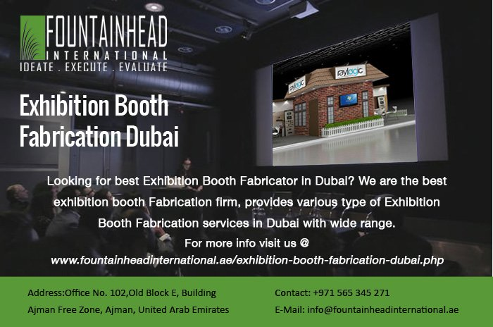 Exhibition Stand Fabricators In Dubai : Fountainhead international limited startus