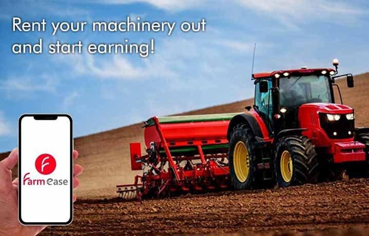 Farmease Farm Equipment Rental Startus